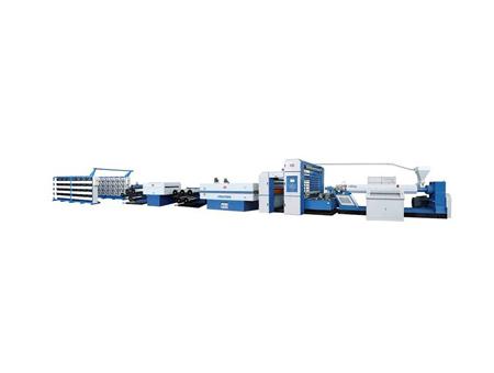 高速平膜拉丝机组